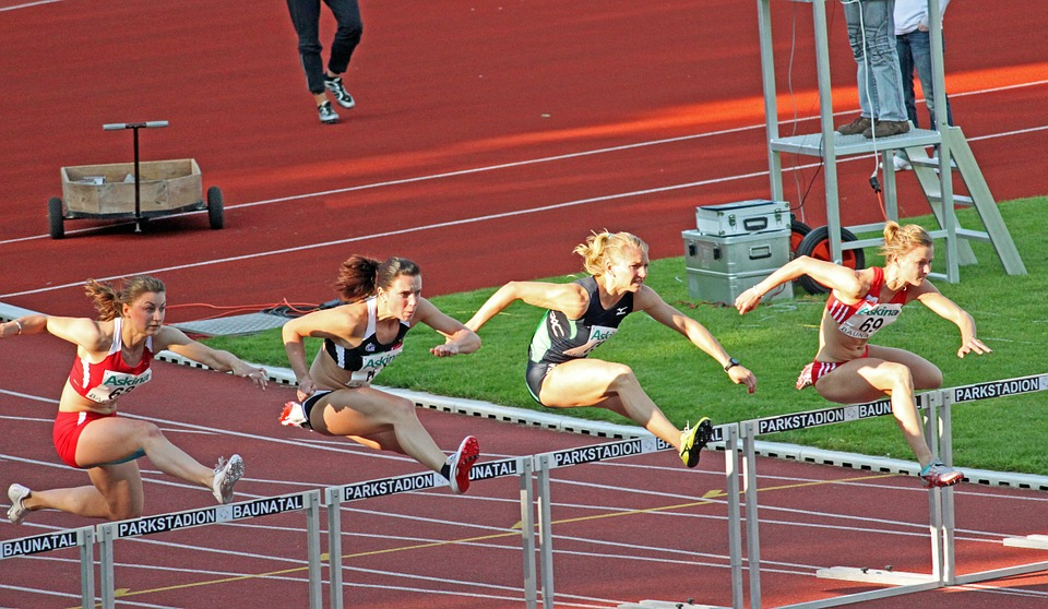 So maybe not quite these hurdles